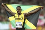 Omar McLeod Jamaica 110m Hurdles World Athletics London 2017  Prints