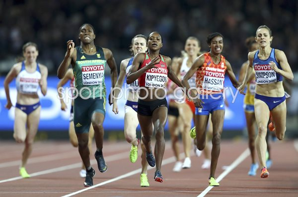 1500m Final World Athletics Championships London 2017