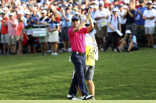 Justin Thomas USPGA Champion Quail Hollow North Carolina 2017
