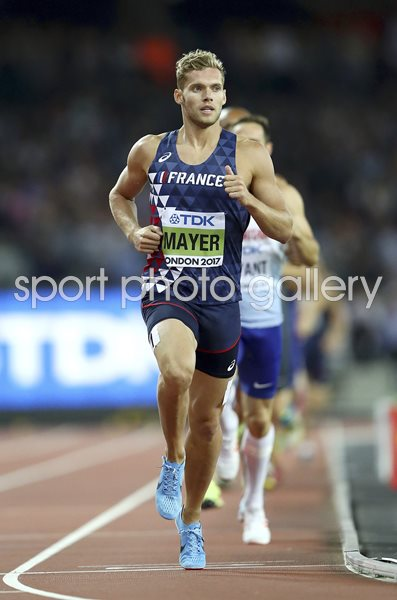 Kevin Mayer France Decathlon World Champion London 2017