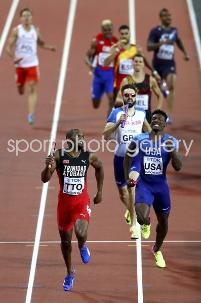Great Britain 4x400m Relay Bronze World Athletics London 2017