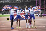 Great Britain 4x400m Relay Bronze World Athletics London 2017 Prints