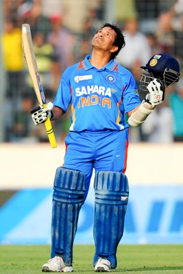 """100th International 100"" Sachin Tendulkar"