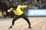 Usain Bolt Farewell World Athletics Championships London 2017 Prints