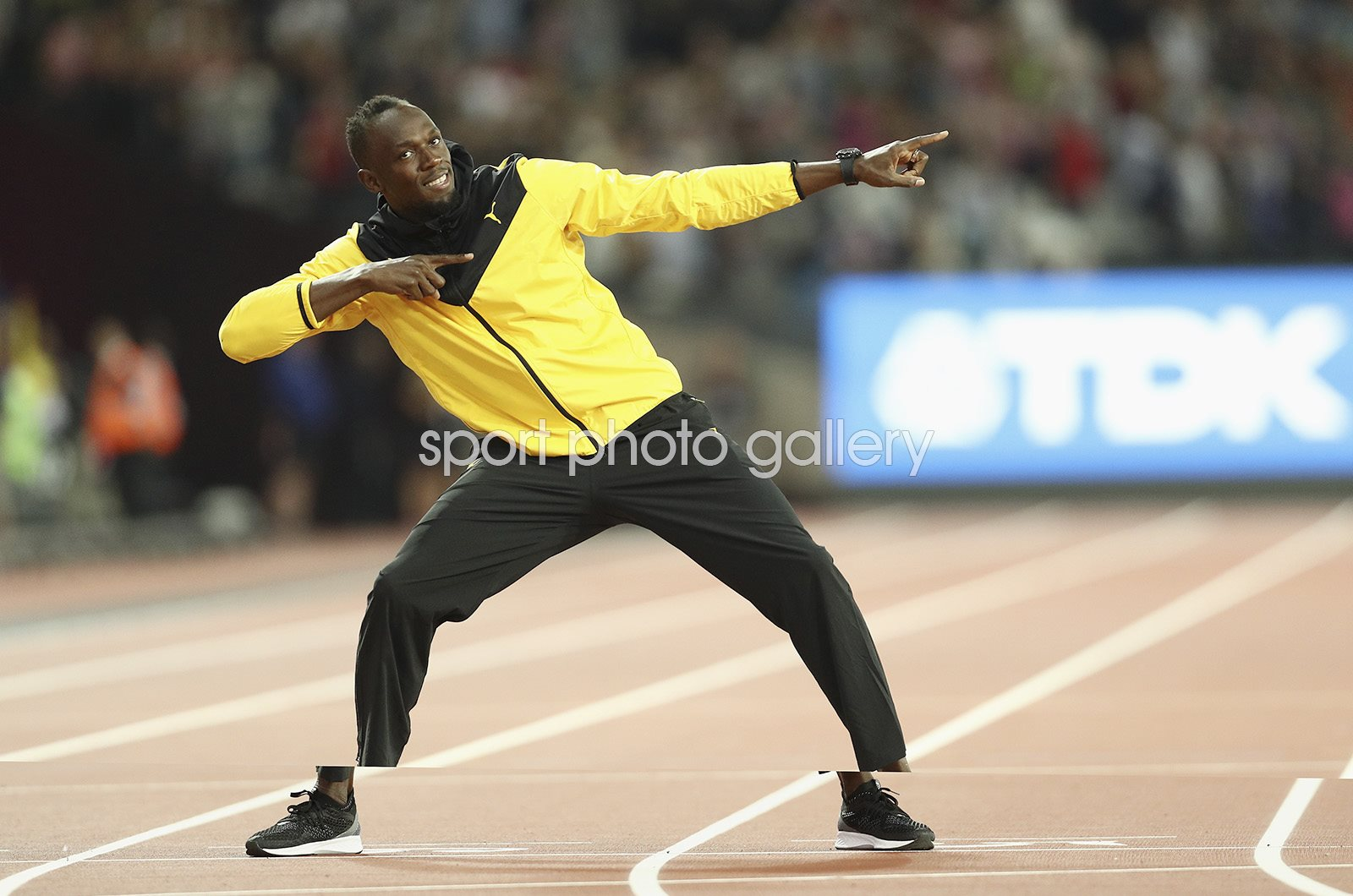 Usain Bolt Farewell World Athletics Championships London 2017