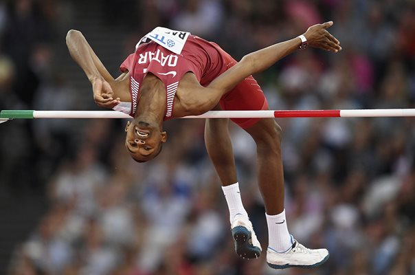 Mutaz Essa Barshim Qatar High Jump Gold London 2017