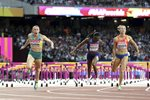 Sally Pearson Australia 100m Hurdles Gold London 2017 Prints