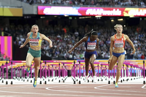 Sally Pearson Australia 100m Hurdles Gold London 2017