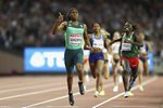 Caster Semenya South Africa 800m Gold London 2017 Canvas