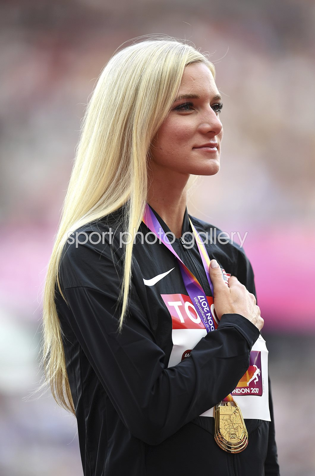 Emma Coburn USA 3000m Steeplechase Gold London 2017