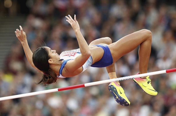 Katarina Johnson-Thompson Great Britain High Jump London 2017