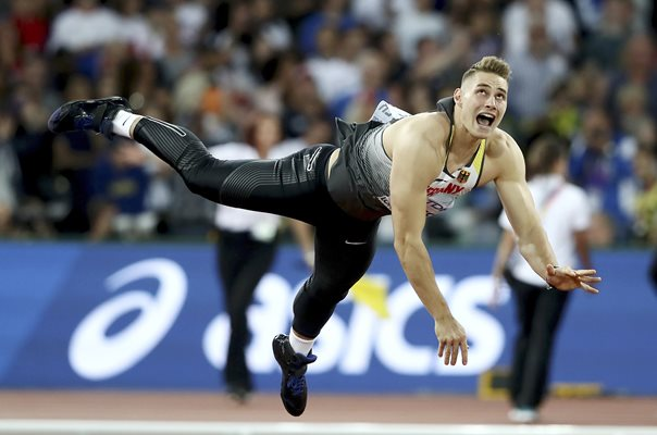 Johannes Vetter Germany Javelin World Athletics London 2017