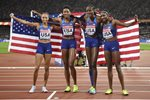USA 4x400m Relay Gold World Athletics Championships London 2017  Prints