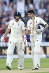 Alastair Cook & Joe Root England v West Indies Edgbaston Day Night Test 2017 Prints
