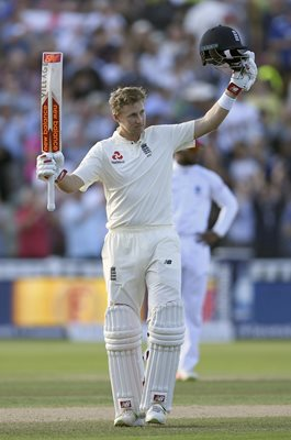 Joe Root Century England v West Indies Edgbaston Day Night Test 2017