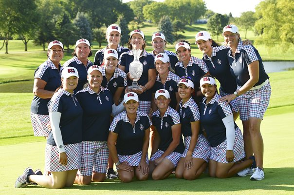 Team USA win Solheim Cup Des Moines 2017