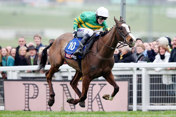 Tony McCoy & Synchronised Gold Cup 2012