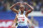 Mo Farah Great Britain Track Farewell Diamond League Birmingham 2017 Prints