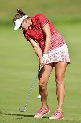 Brittany Lang Team USA Solheim Cup Des Moines 2017