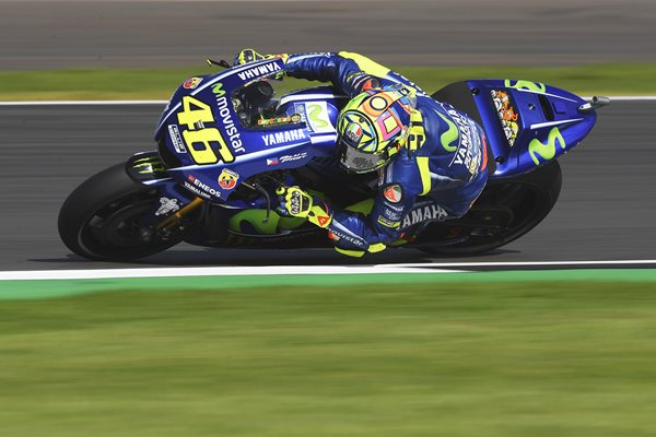 Valentino Rossi MotoGP Of Great Britain 2017
