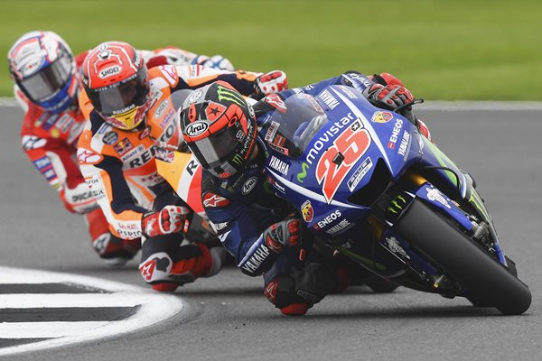 Maverick Vinales Yamaha MotoGP Of Great Britain