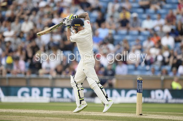 Ben Stokes England v West Indies Headingley 2017