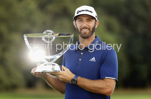 Dustin Johnson Northern Trust Champion 2017