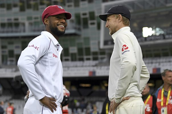 Joe Root England & Shai Hope West Indies Headingley 2017