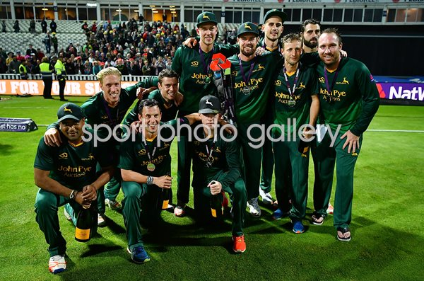Nottinghamshire Outlaws T20 Blast Final Winners 2017