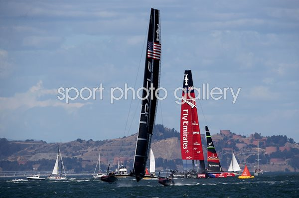 USA v New Zealand America's Cup San Francisco 2013