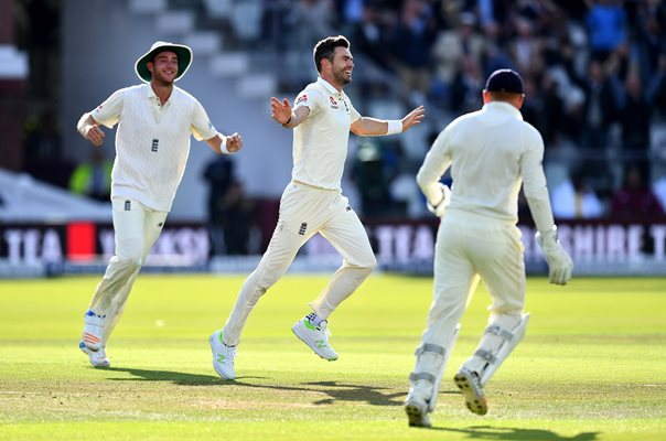 James Anderson England 500 Test Wickets v West Indies Lord's 2017
