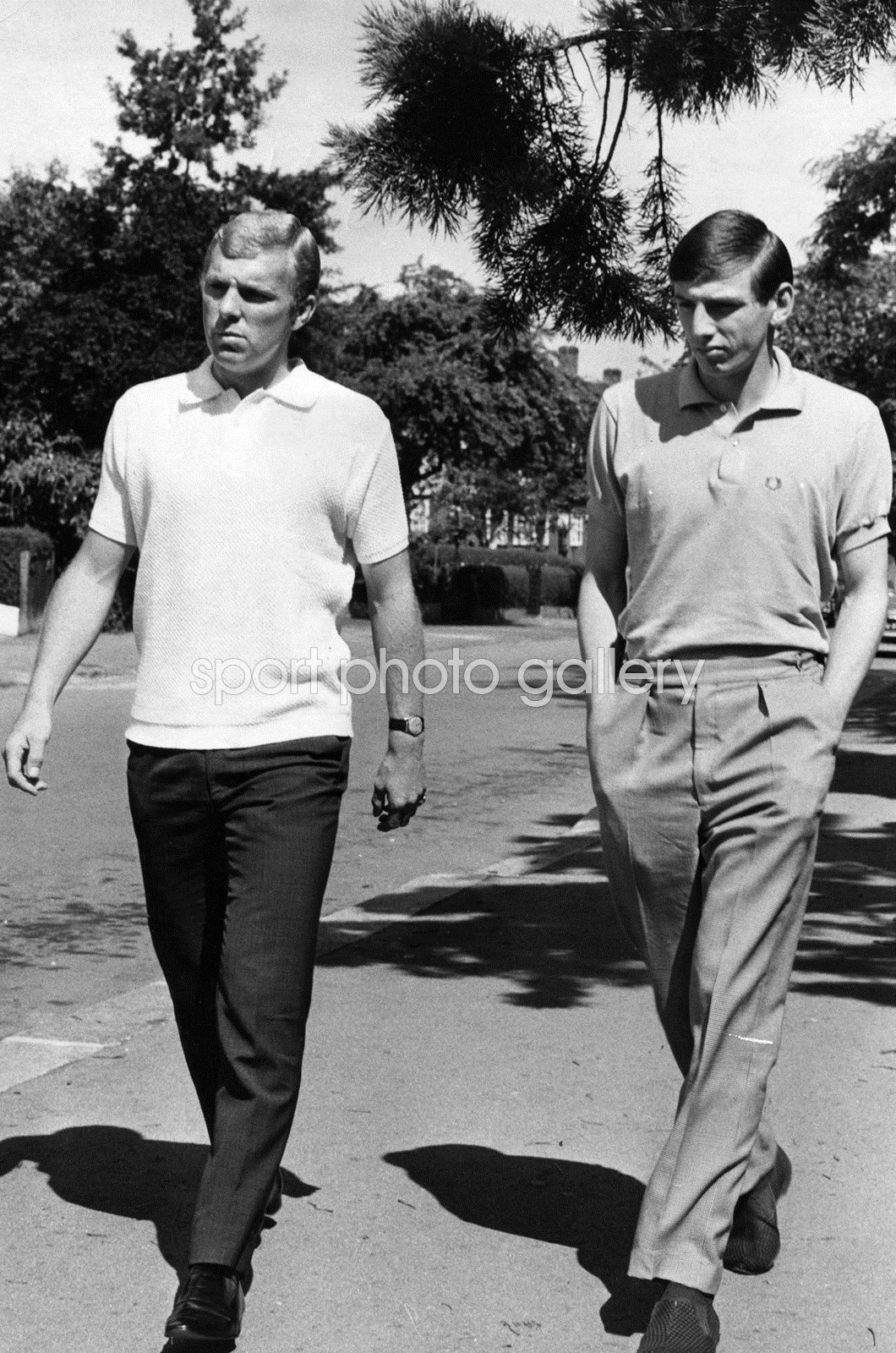 Bobby Moore & Martin Peters West Ham & England