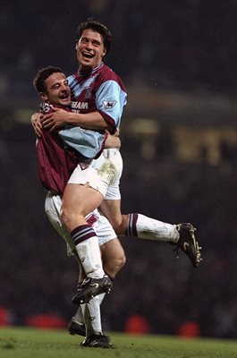 Tony Cottee West Ham v Wimbledon 1995