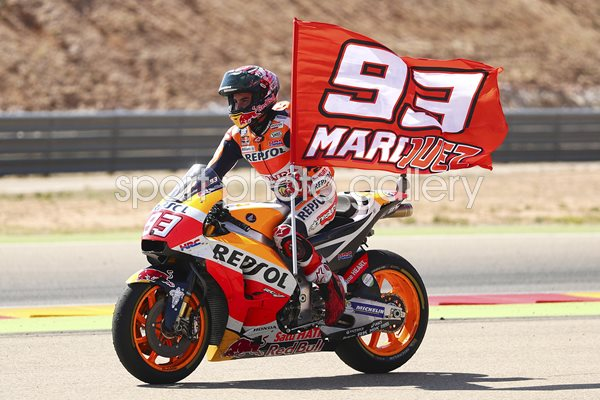 Marc Marquez MotoGP of Aragon Winner 2017