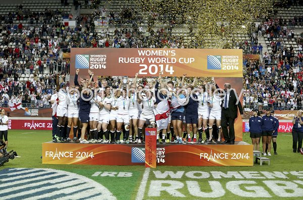 England Women's Rugby World Cup Champions 2014