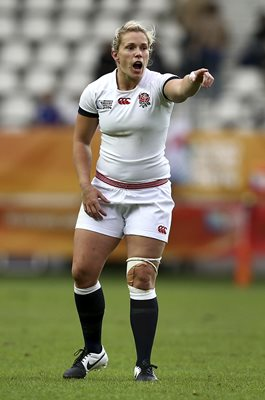 Rachael Burford England v Canada World Cup Final 2014