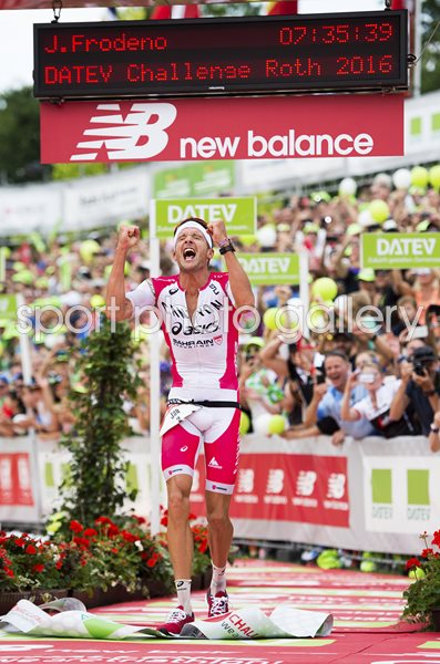 Jan Frodeno Germany wins Challenge Roth Triathlon 2016
