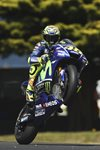 Valentino Rossi Wheelie MotoGP of Australia 2017 Mounts