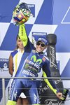 Valentino Rossi MotoGP of Australia 2017 Podium Mounts