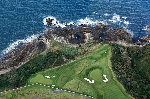 Fairmont St Andrews Bay Golf Courses Aerials