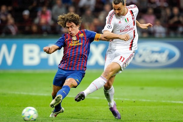 AC Milan v Barcelona - Champions League