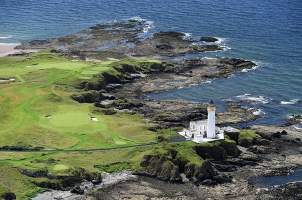 Ailsa Course Trump Turnberry Aerials