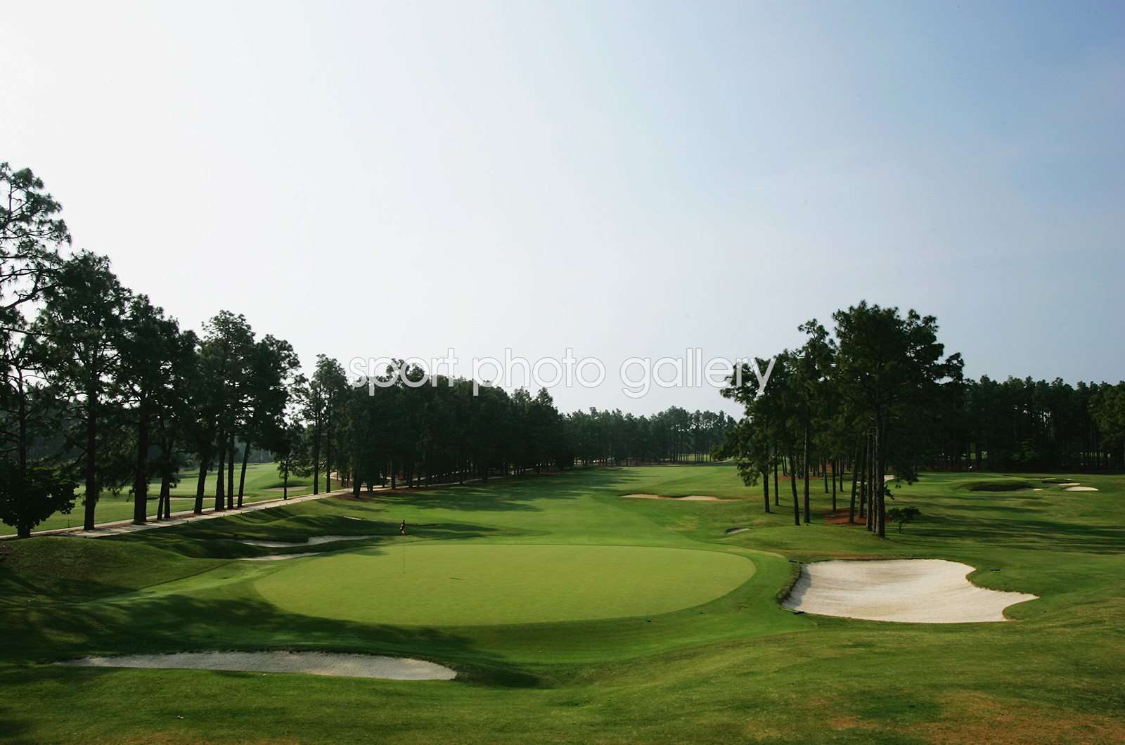 Pinehurst No 2, North Carolina 16th hole, US Open venue 2005