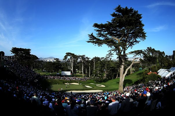 Olympic Club, San Francisco 18th hole US Open 2012