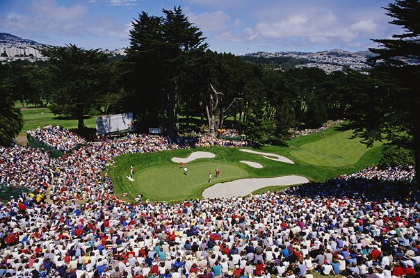 Olympic Club Lake Course in San Francisco, California US Open 1987