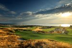 Chambers Bay Golf Course 13th hole US Open venue 2015 Prints