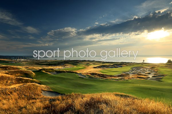 Chambers Bay Golf Course 13th hole US Open venue 2015