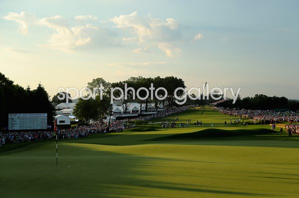 Oakmont Country Club, Pennsylvania, 18th Hole US Open 2016