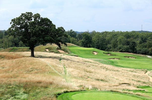 Erin Hills Golf Course, Wisconsin 16th hole 2017 US Open venue