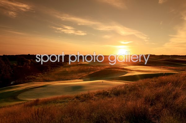 Erin Hills Golf Course, Wisconsin 14th hole 2017 US Open venue